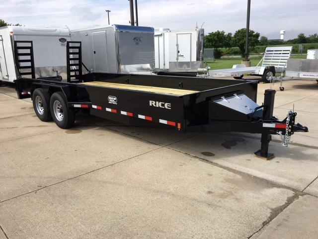 2018 Rice MAX FLATBED Flatbed Trailer