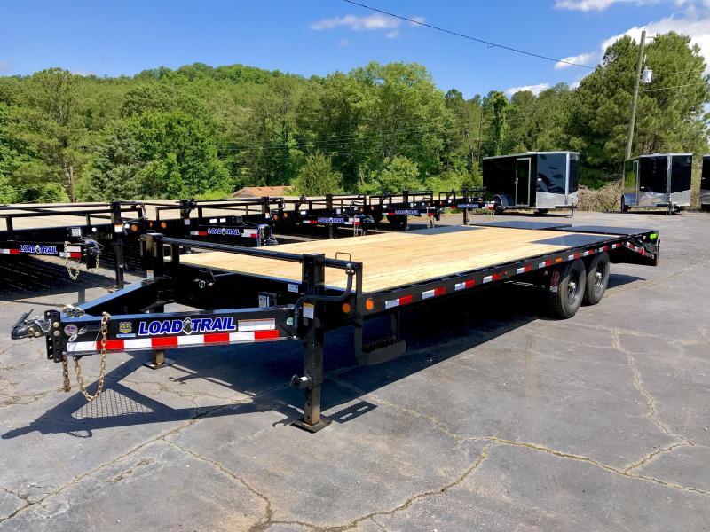 New Load Trail 24' Deckover Equipment Trailer