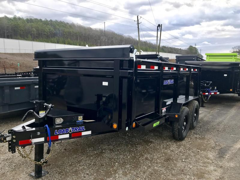 2020 Load Trail 14ft w/ 3ft Walls 14K Dump Trailer