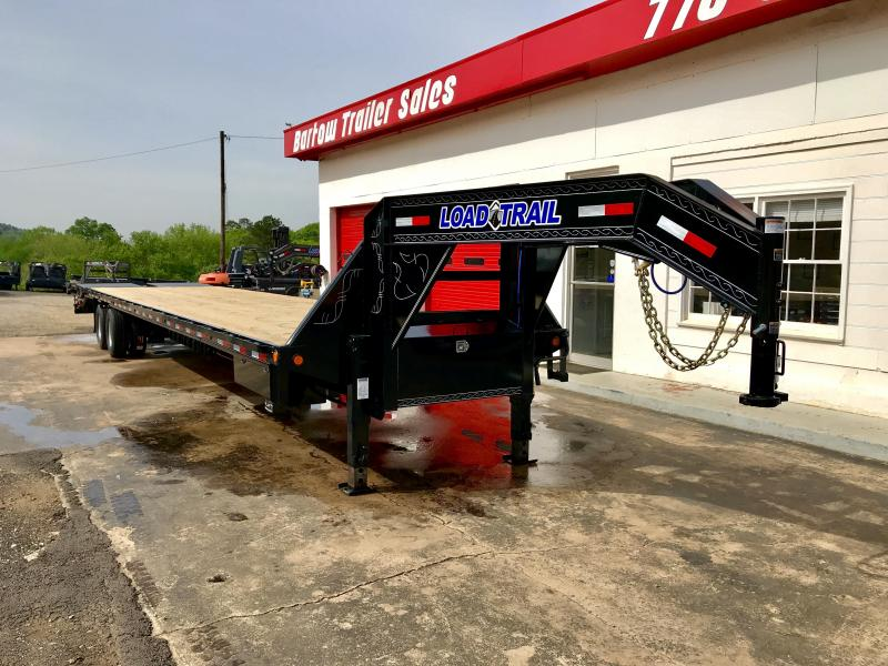 New Load Trail 40ft Air Ride Hotshot LOADED!!