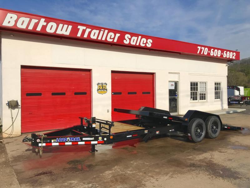 New Load Trail 20ft 14k Tilt Deck Equipment Trailer