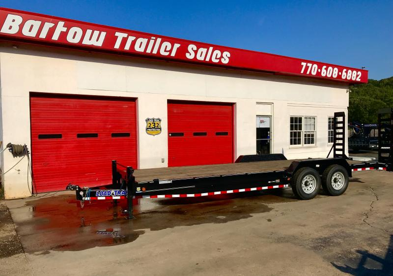 New Load Trail 24ft Equipment Trailer