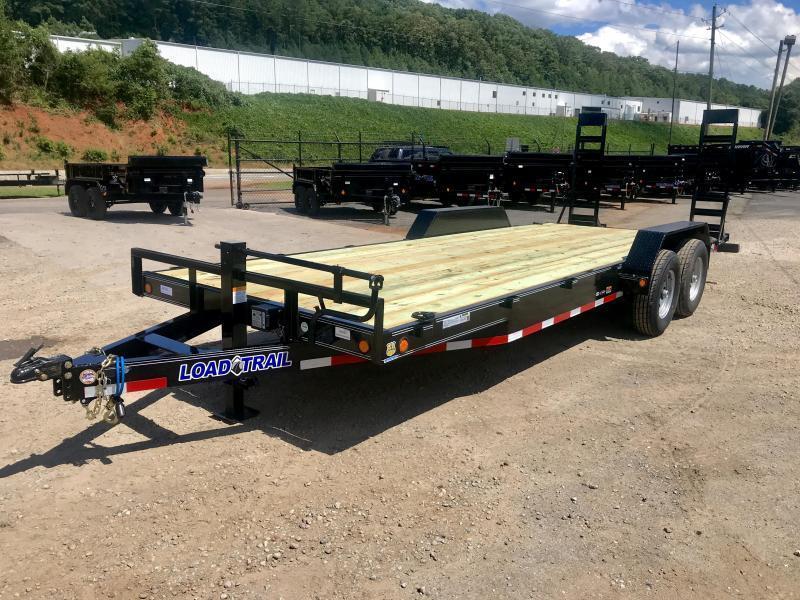 New Load Trail 22ft 14K Equipment Trailer