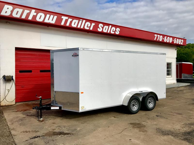 New Rock Solid 7x14 Tandem Axle Cargo Trailer