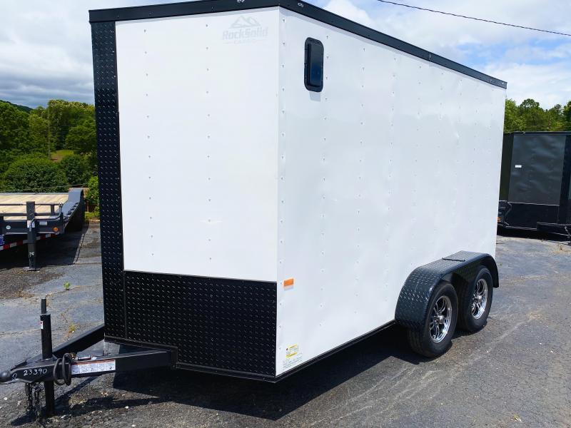 2020 Rock Solid Cargo TA 6x12 Enclosed Cargo Trailer