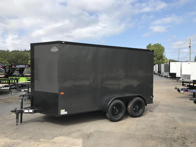 2020 Rock Solid Cargo 6x12 Tandem Enclosed Cargo Trailer