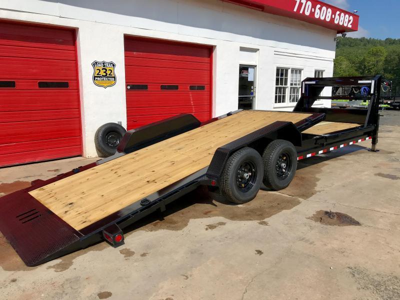 2020 Load Trail 24ft Gooseneck Tilt Equipment Trailer
