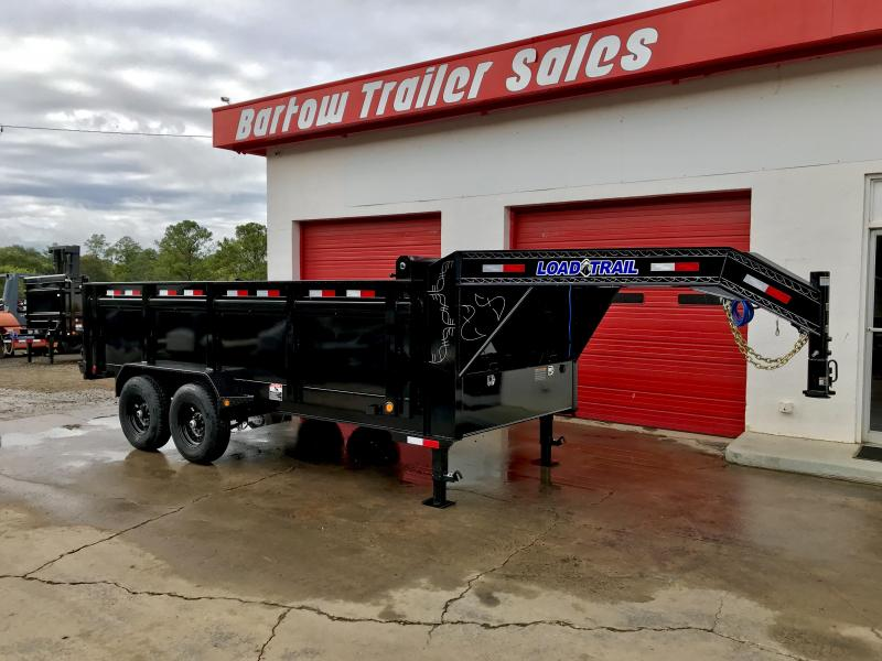 2020 Load Trail 16ft Gooseneck Dump Trailer
