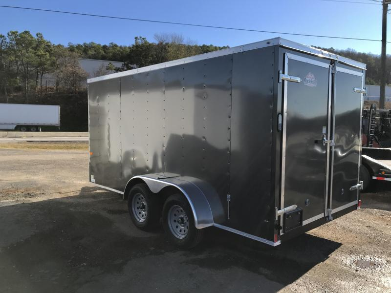 New Rock Solid 7x14 Tandem Axle Enclosed Cargo Trailer