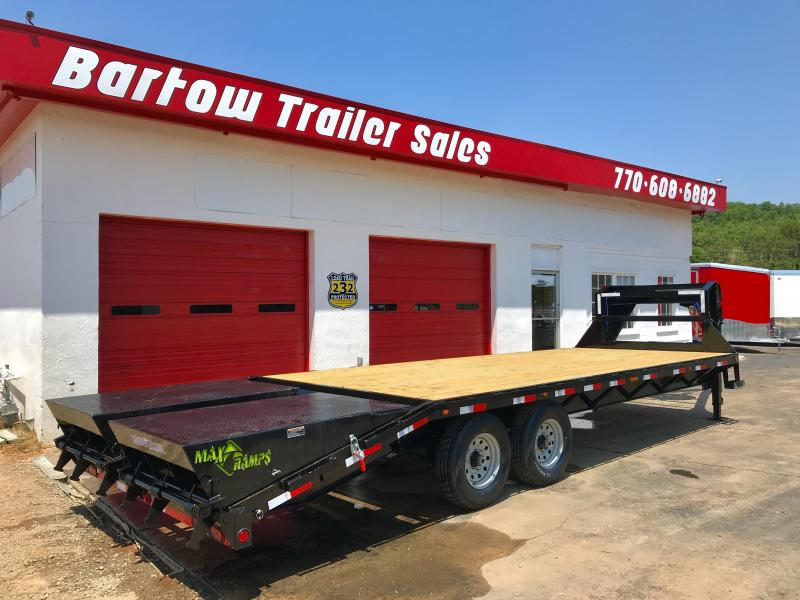 New Load Trail 25ft 14k Flatbed Trailer