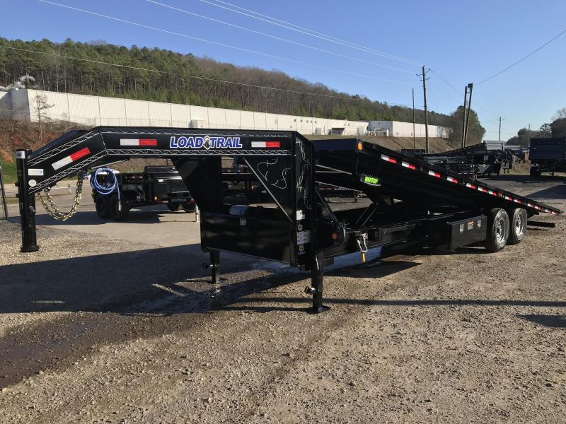 2020 Load Trail 26' Deckover power Tilt Flatbed Trailer