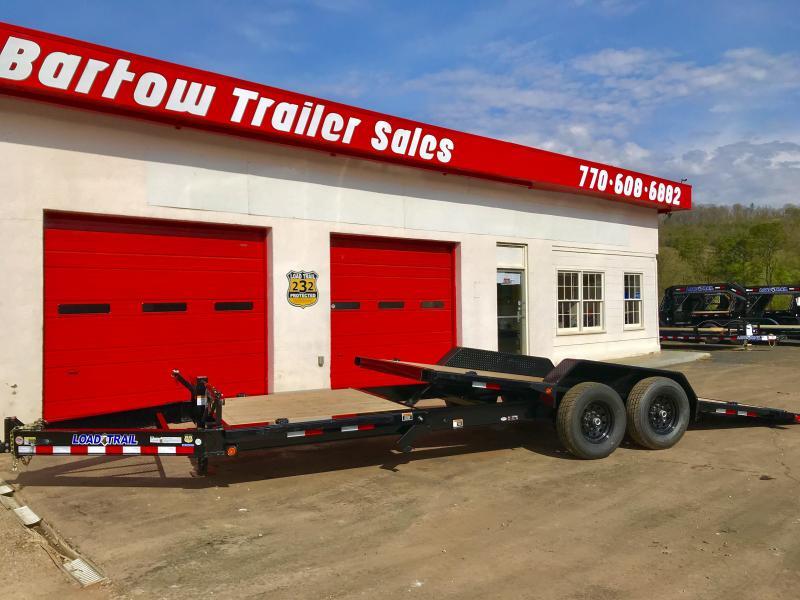 New Load Trail 24ft Tilt Deck Trailer