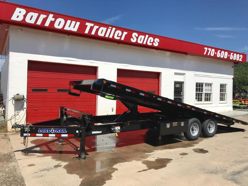New 8.5' x 24'  Deckover Tilt Equipment Trailer
