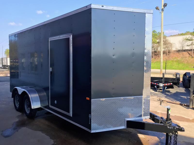 2020 Rock Solid Cargo 7x16  7' int Tandem Enclosed Cargo Trailer