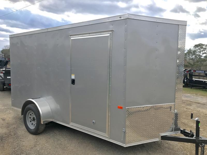 2020 Rock Solid Cargo 6x12 Single Axle Enclosed Cargo Trailer