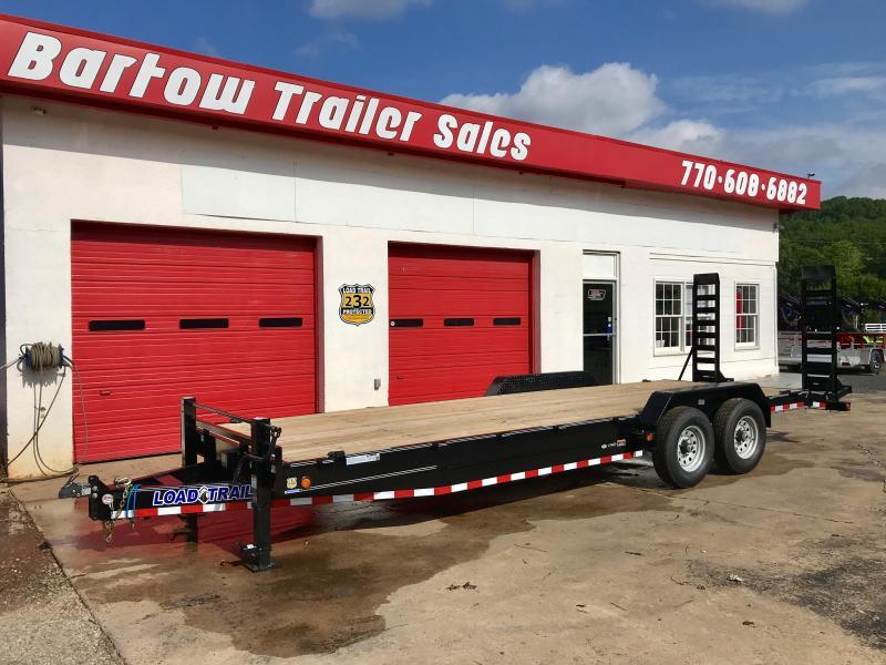 New Load Trail 24ft 14K Equipment Hauler