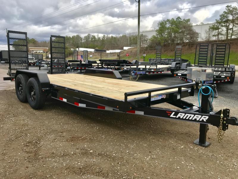 2020 Lamar Trailers 18ft 14k Equipment Trailer