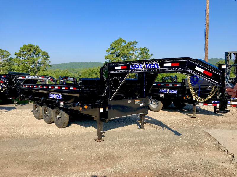 New 16ft Triple Axle Deckover Dump Trailer