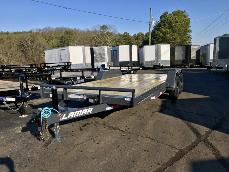 2020 Lamar 18ft 10k Equipment Trailer