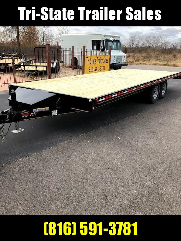 "2020 Heartland 102""X24' Deckover Equipment Trailer"