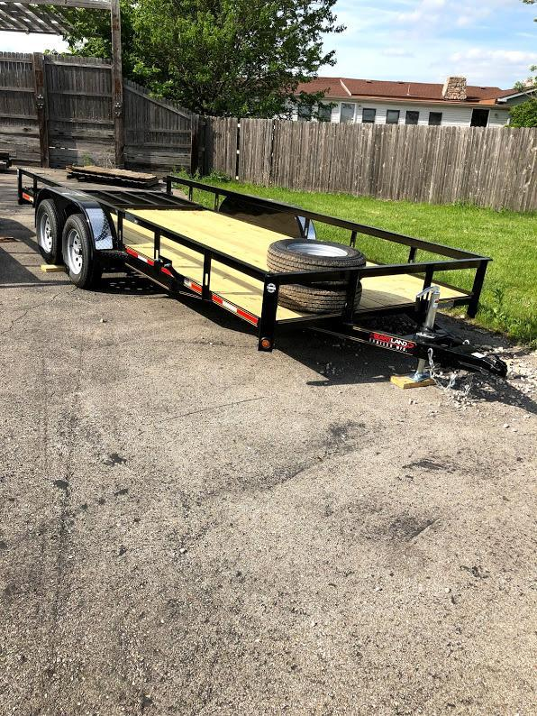 2019 Heartland Tandem Utility trailer 18' with 4 ft gate Utility Trailer