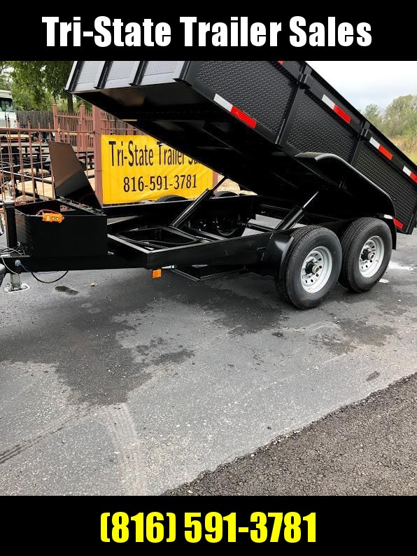 2019 Mid America 6x12 dump Dump Trailer