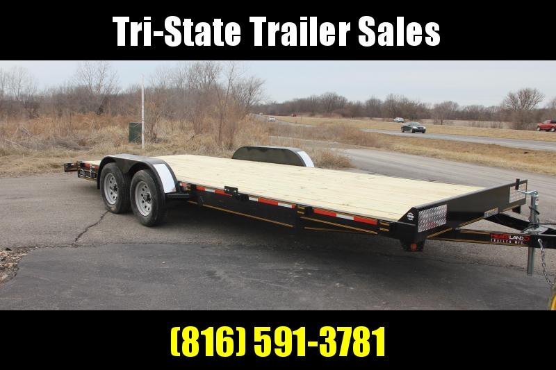 2020 Heartland Car Hauler Flatbed Trailer