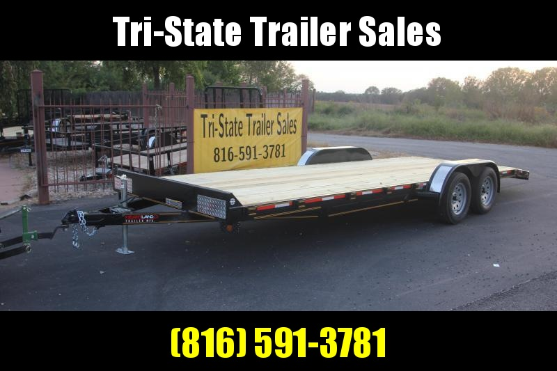 2019 Heartland Barlow Car Hauler Flatbed Trailer