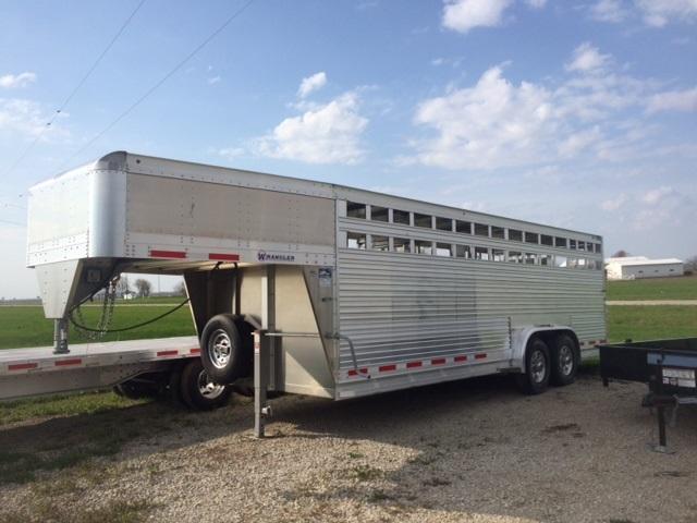2020 Eby Trailers 7.5 X 22 Wrangler Livestock Trailer