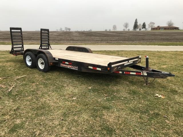 2007 Trailerman Trailers Inc. Contractor's Special Equipment Trailer