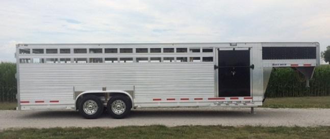 2020 Eby 8 X 26 Ruffneck Livestock Trailer