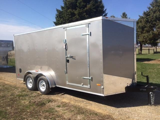 2019 Royal Cargo Trailers TA2 Flat Top Wedge Enclosed Cargo Trailer