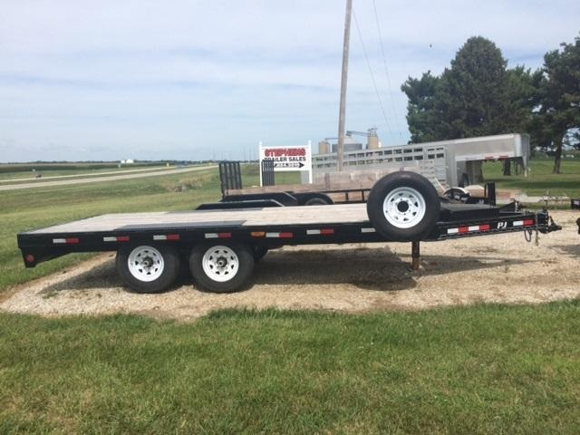 2018 PJ Trailers Trailer Equipment Trailer