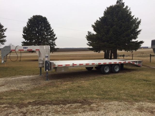 2018 Eby Trailers Deckover Equipment Trailer
