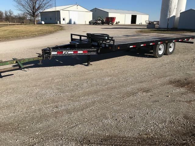 "2018 PJ Trailers 96"" X 22'Tilt Equipment Trailer"