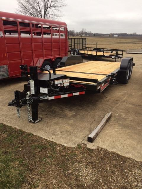 2019 Trailerman Trailers Inc. Custion Tilt Equipment Trailer