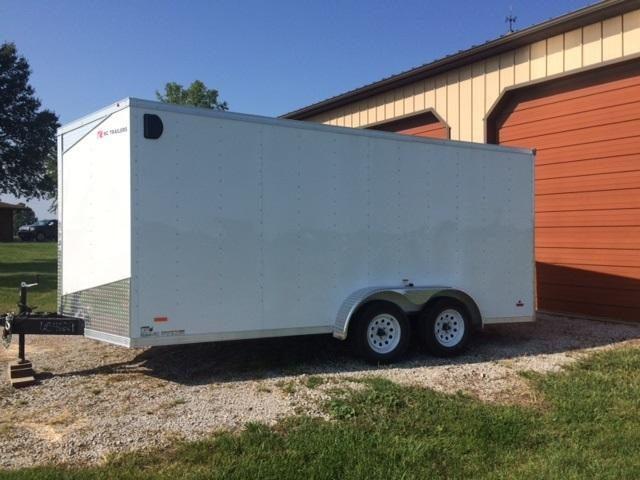 2019 RC Trailers RWT TA2 Enclosed Cargo Trailer