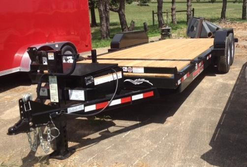 "2016 Trailerman 83"" X (18+4) Power Tilt Equipment Trailer"