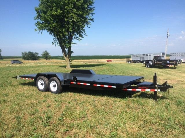 2018 Imperial 20' Splitfloor Wideboy Equipment Trailer