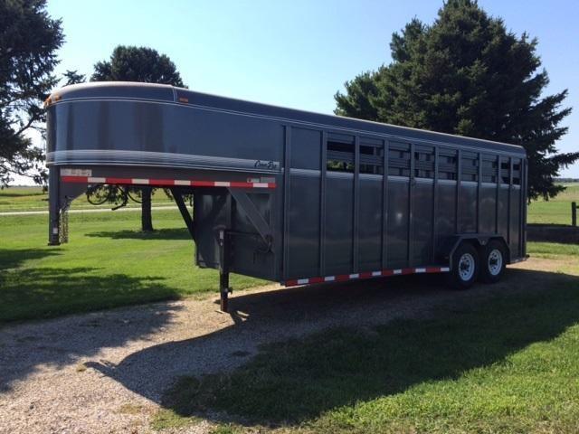 2009 CornPro Trailers Horse Livestock Trailer