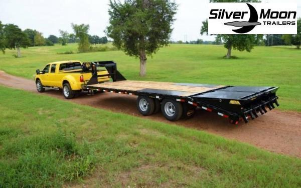 2020 Big Tex Trailers 22GN-25+5MR Equipment Trailer 23.9K