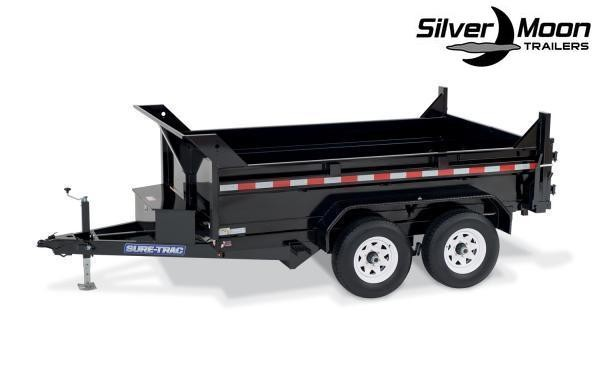 "2020 Sure-Trac 72"" x 12' 10K SD Low Profile Dump Trailer"