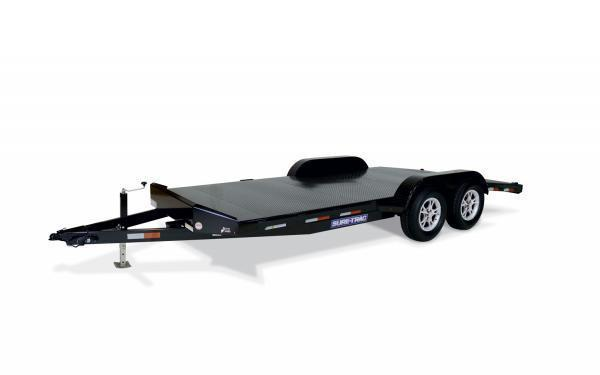 "2019 Sure-Trac 83"" x 18' 7K Steel Deck Car Hauler"