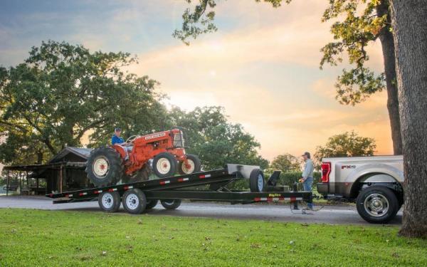 "2020 Big Tex Trailers 14OT 102"" x 24' 14K Equipment Trailer"