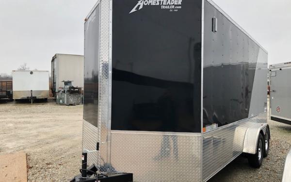 2020 Homesteader Intrepid OHV 7 x 14 TA Enclosed Custom Cargo Trailer