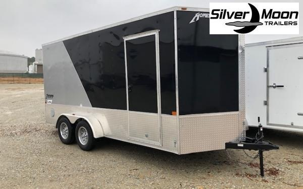 2020 Homesteader Intrepid OHV 7 x 14 TA Enclosed Custom Cargo Trailer For Sale
