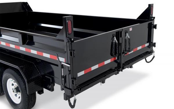 "2020 Sure-Trac 82"" x 14' 14K Heavy Duty Low Profile Dump (Scissor Hoist) Trailer"