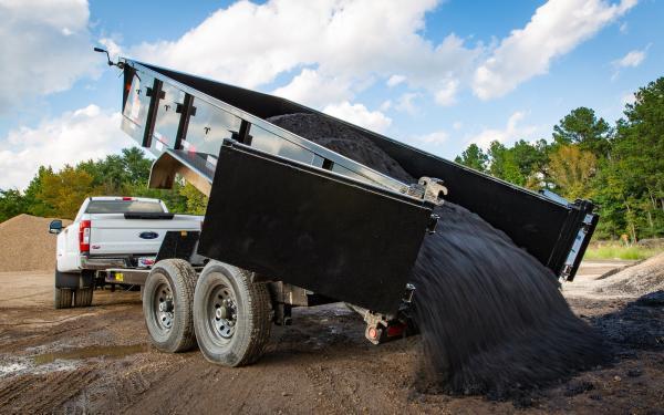 "2020 Big Tex Trailers 14GX 83""x14'  Gooseneck Dump Trailer 14K"