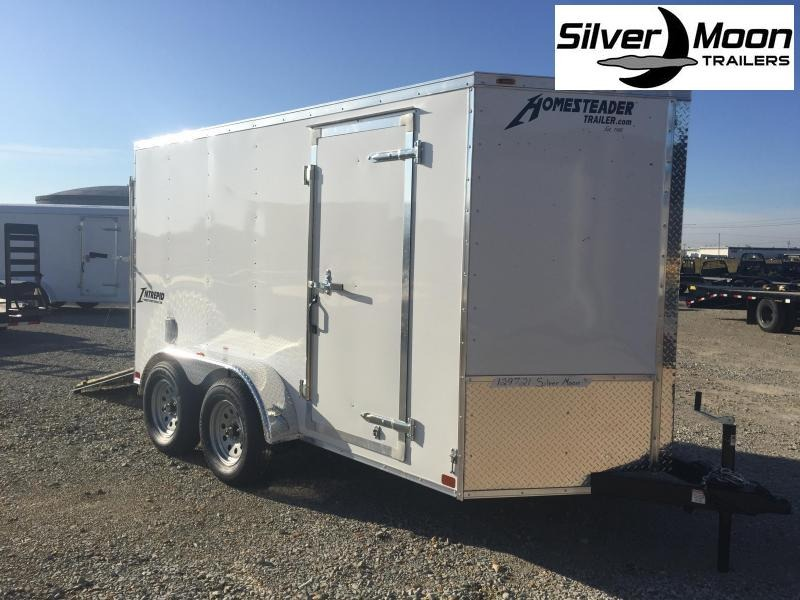 2020 Homesteader 6x12 Tandem Cargo Trailer