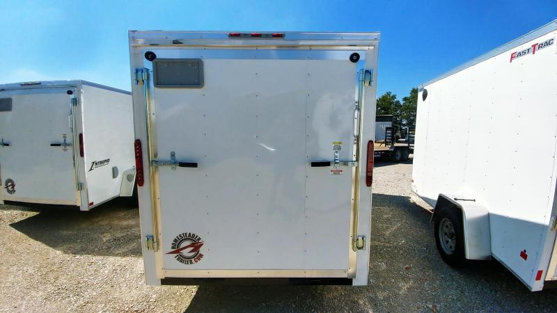 2020 Homesteader 6 x 12 SA Enclosed Cargo Trailer